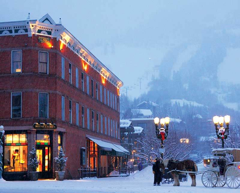 Independence Square Lodge. Aspen Snowmass, Colorado.