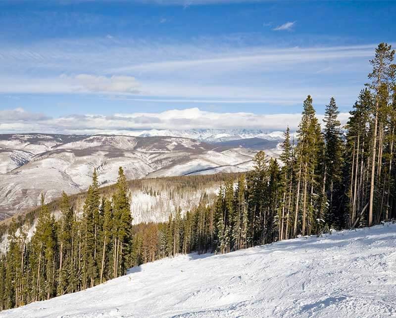Top of the Village. Aspen Snowmass, Colorado.