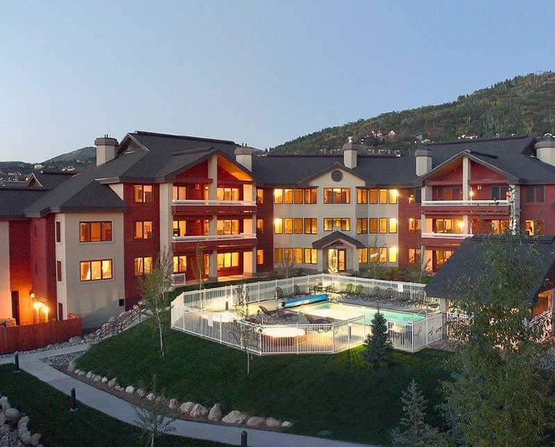 Trappeurs Crossing Lodge. Steamboat, Colorado.