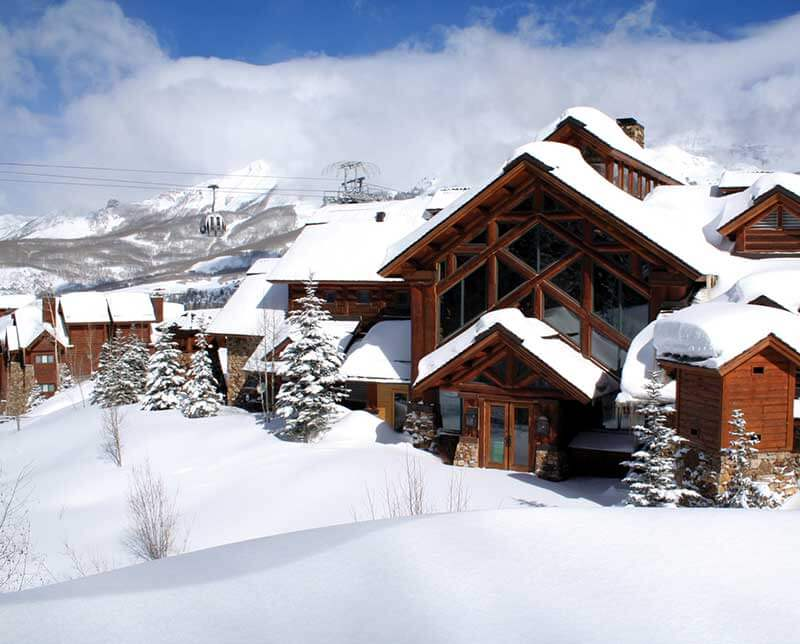 Mountain Lodge. Telluride, Colorado.