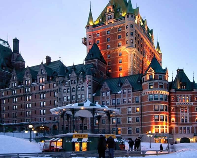 Chateau Frontenac. Mont Sainte Anne, Quebec.