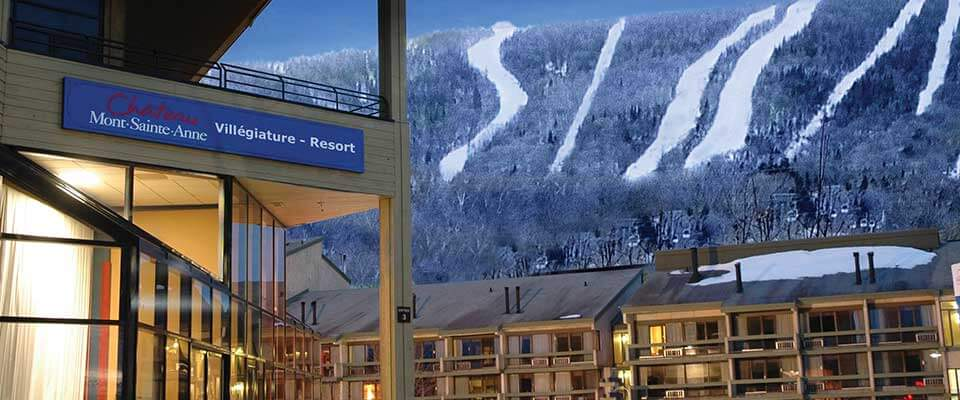 Chateau Mont Sainte Anne, Mont Sainte Anne, Quebec.