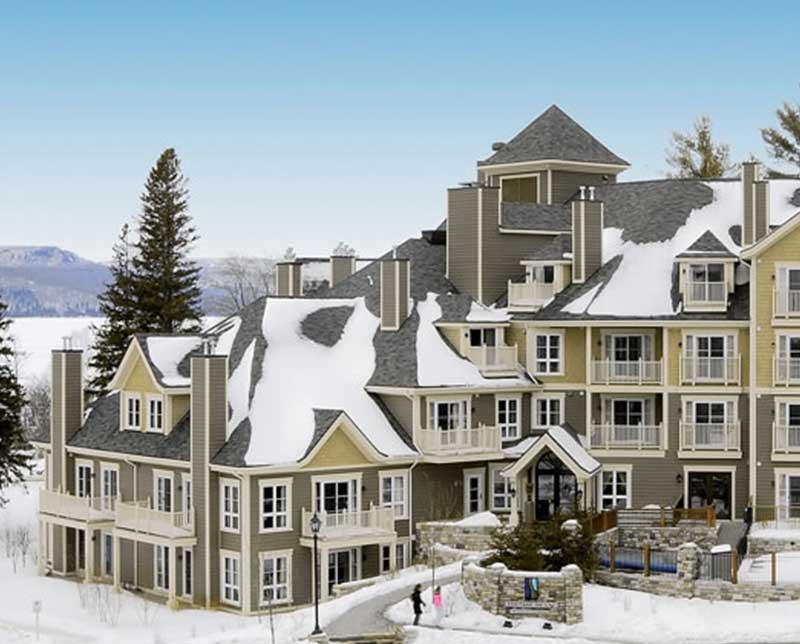 Ermitage du Lac. Mont Tremblant, Quebec.