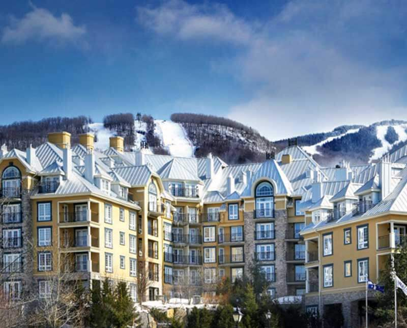 Le Westin Resort and Spa. Mont Tremblant, Quebec.