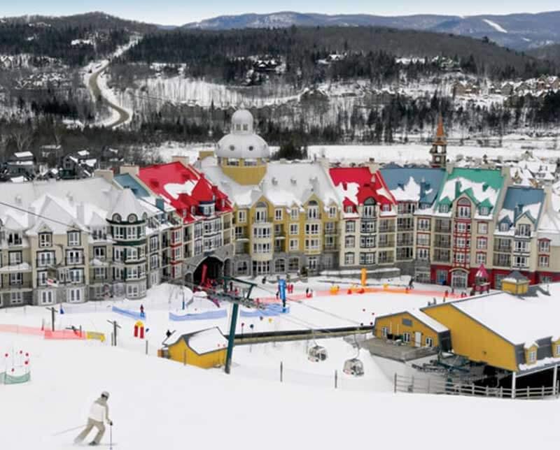 Sommet des Neiges. Mont Tremblant, Quebec.