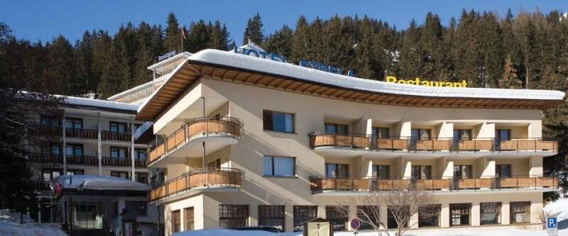 Hotel Strela. Davos, Switzerland.