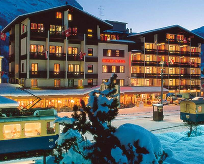 Hotel Derby. Grindelwald, Switzerland.