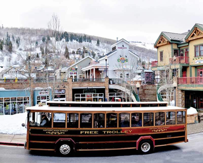 Town Lift Condos. Park City, Utah.