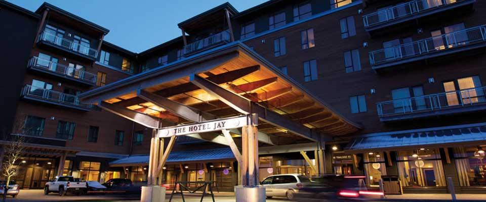 Hotel Jay. Jay Peak, Vermont.