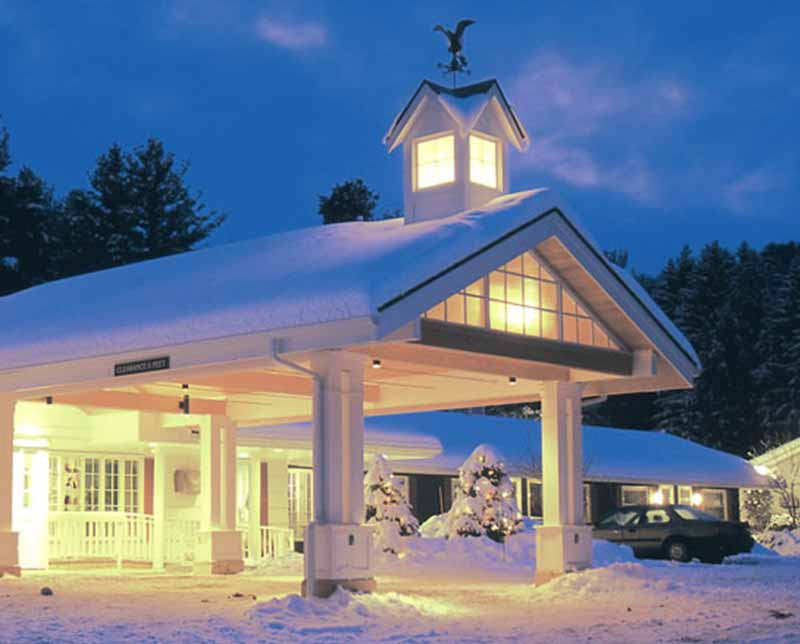 Golden Eagle Resort. Stowe, Vermont.