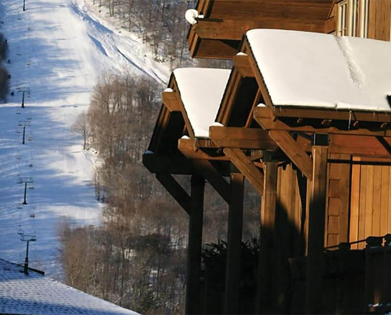 Mountain Lodge. Stowe, Vermont.