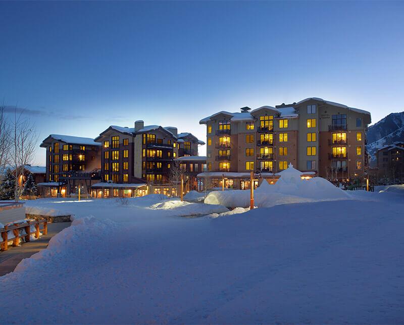 Hotel Terra. Jackson Hole, Wyoming.