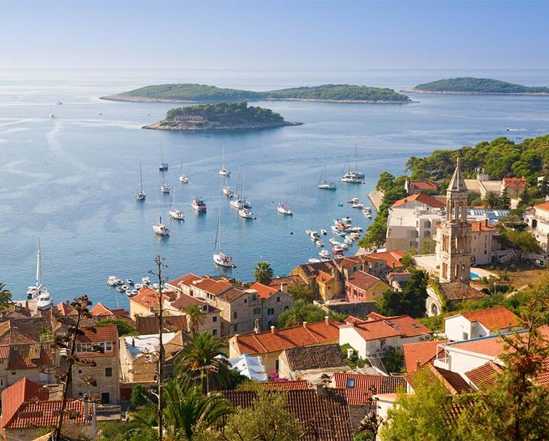 Dalmatian Coast Resorts Cycling The Dalmatian Coast