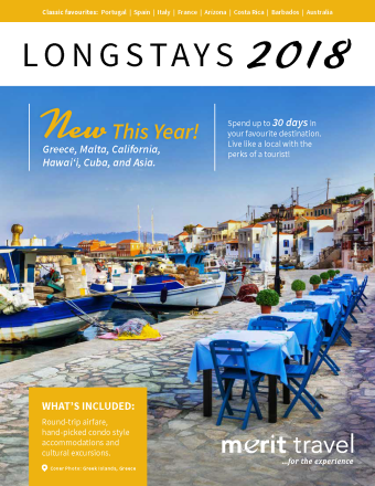 Digital Brochure - Longstays - Merit Travel