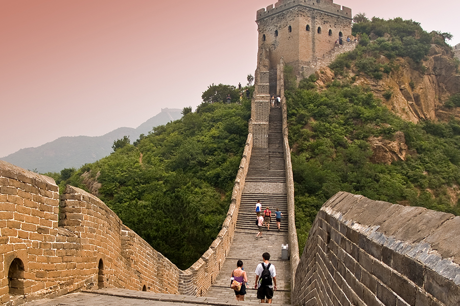 The Great Wall of China, near Beijing