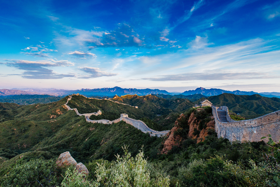 Great Wall of China, near Beijing