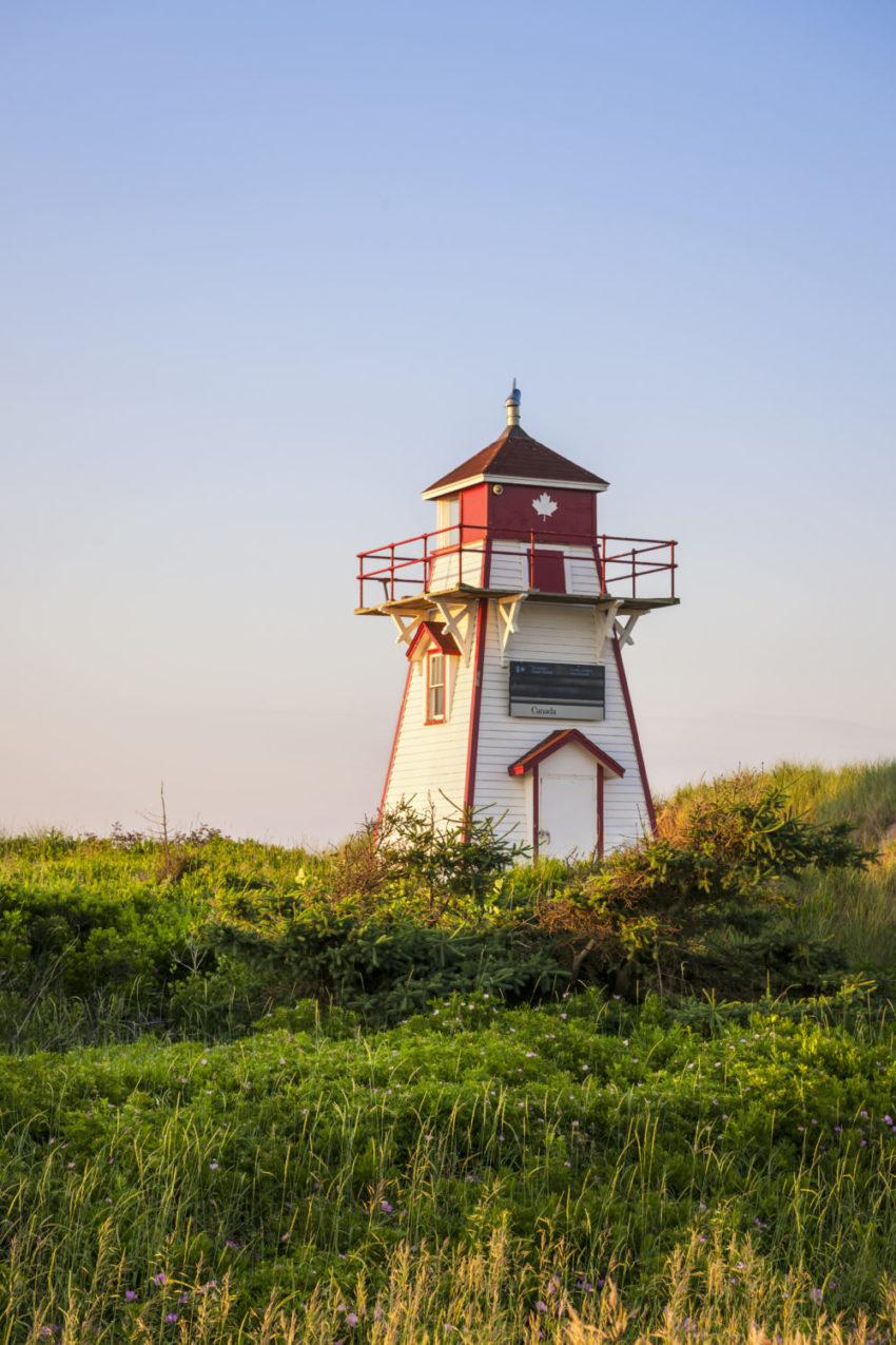 Covehead Harbour lighthouse, Prince Edward Island, Canada