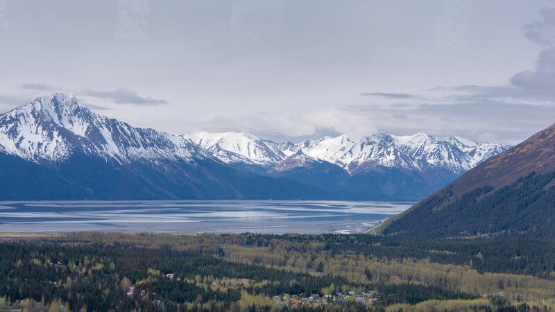Alyeska Mountain Vista, Alaska