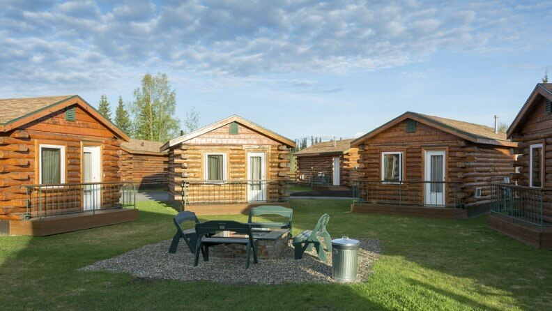 Cabin Accommodation at Pikes Place Lodge, Alaska
