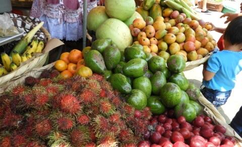 Fruit Market – Nahuizalco