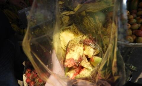 Fresh mango from the market – Nahuizalco