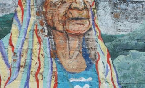 Mural of Nahuas lady – Concepcion de Ataco