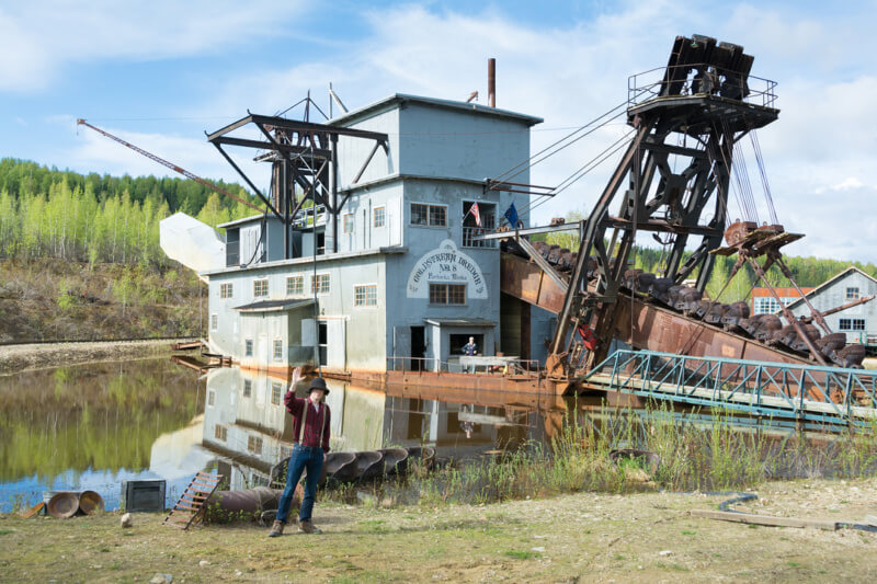 Gold Dredge Number 8 in Fairbanks, Alaska
