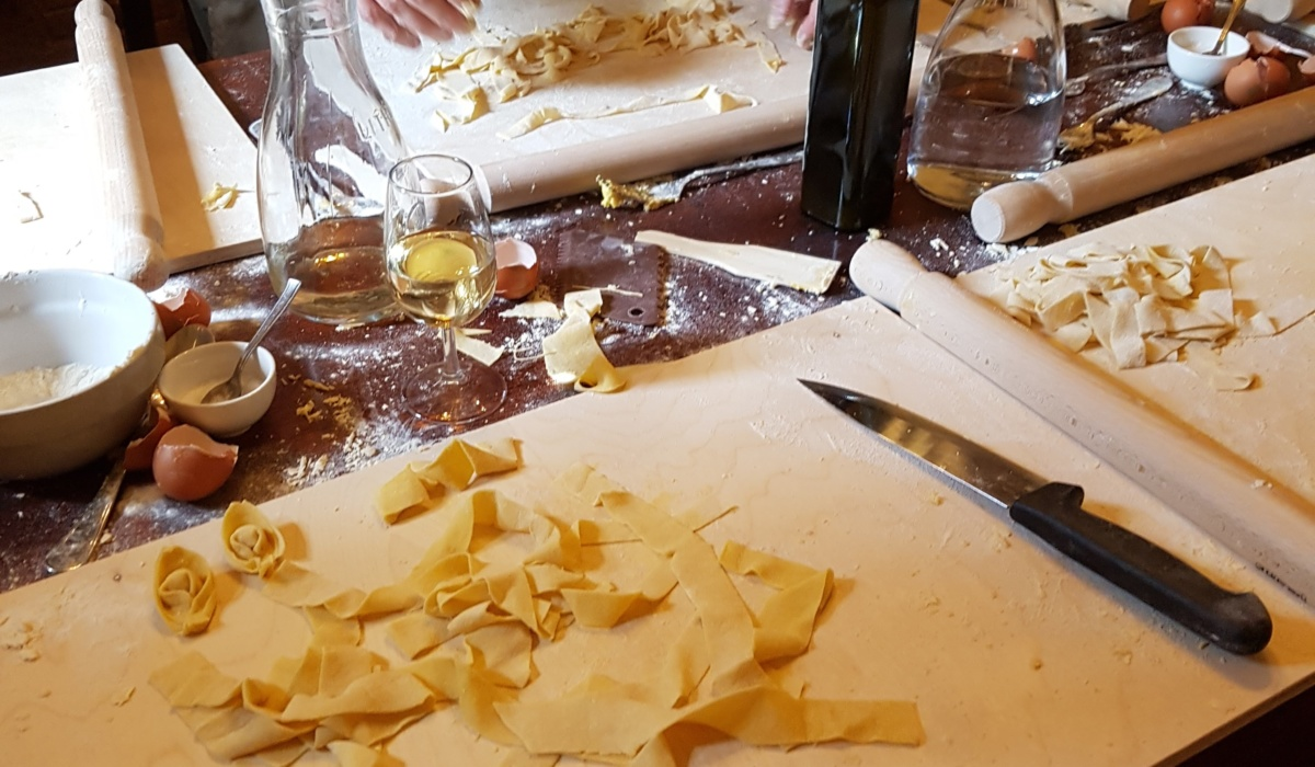 Vicchiomaggio Winery Cooking Classes