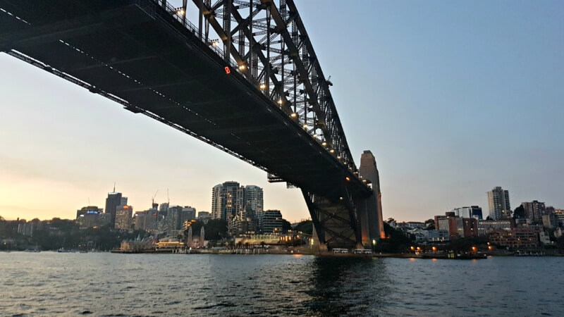 The famously iconic Sydney Harbour Bridge. Australia. Vacation