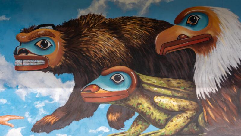 Tlingit Street Mural