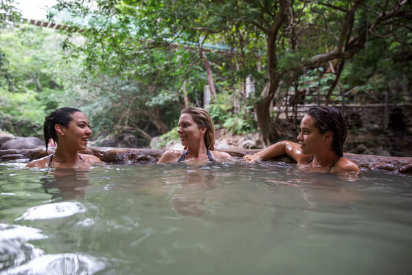 Costa Rica Rincon de la Vieja Mud Bath. Courtesy G Adventures
