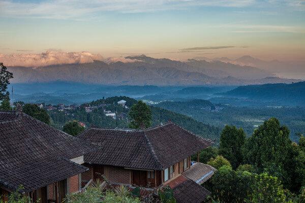 Ubud Mountainous Landscape at Sunrise in Indonesia. Courtesy G Adventures