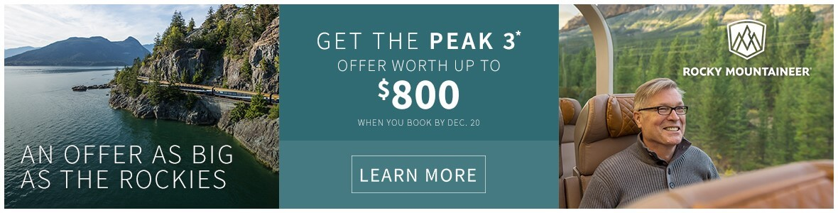 Rocky Mountaineer Deals
