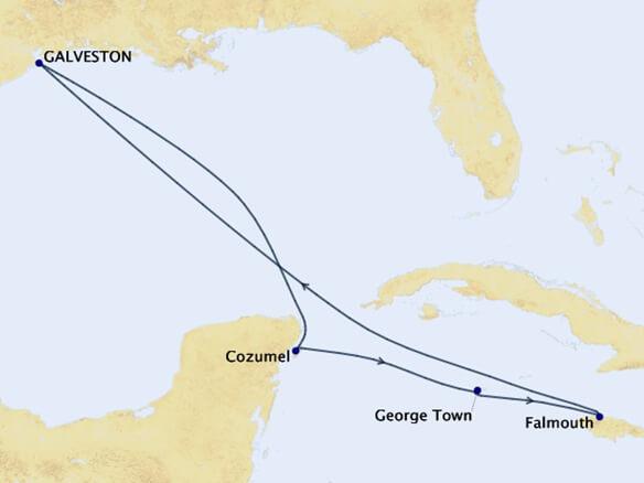 WESTERN-CARIBBEAN-Map