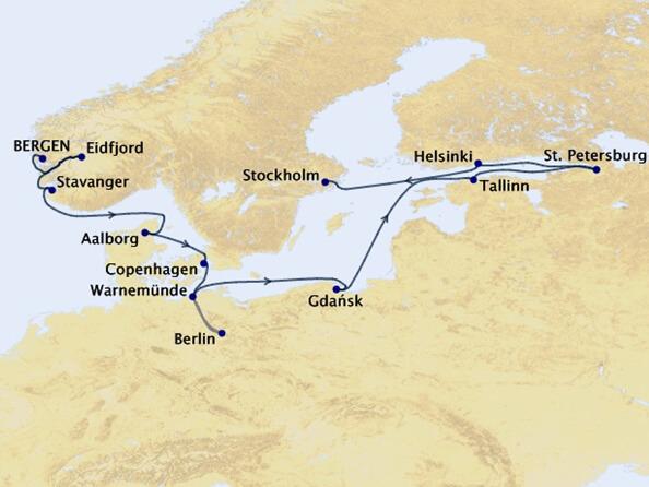 Viking-Homelands-Cruise-Map