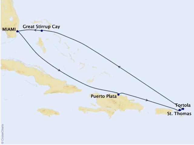 Eastern-Caribbean-Cruise-Map
