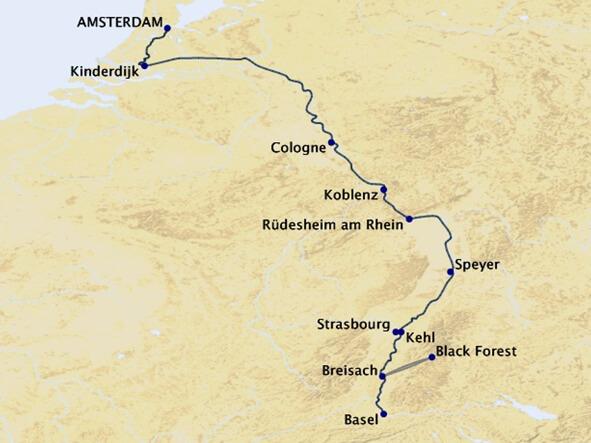 Rhine-Getaway-Cruise-Map