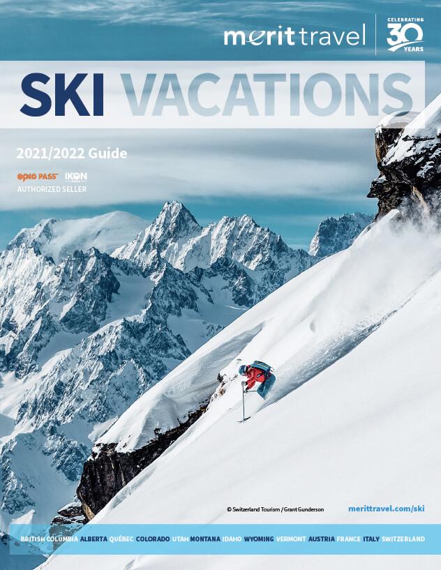 ski brochure